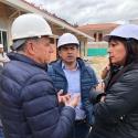 Gerente del -FFIE- y Secretario de Educación lideran seguimiento a las obras educativas de Boyacá