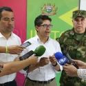 Gobernador hace un llamado urgente para articular acciones de seguridad en Puerto Boyacá