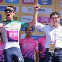 Barragán impuso la camiseta 'Gobernación de Boyacá' al ganador de la primera etapa del Tour Colombia 2.1