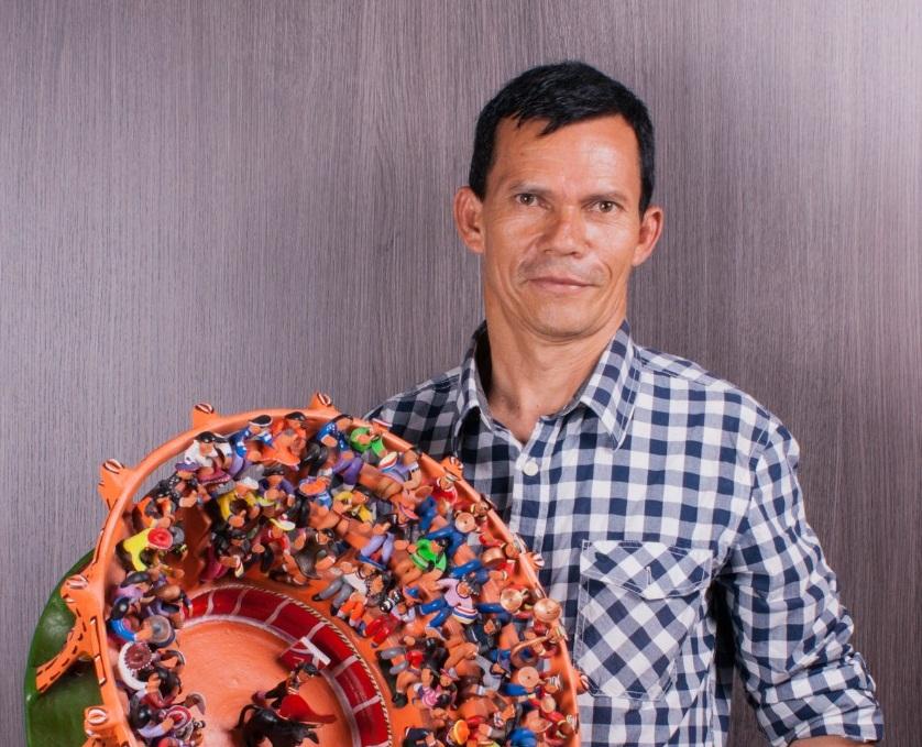 Foto: artesanías de Colombia