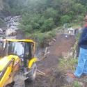 Administración Departamental trabaja en varios frentes para recuperar movilidad vial entre Rondón y Pesca
