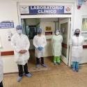 En el Hospital Universitario San Rafael de Tunja comenzó a funcionar laboratorio de Biología Molecular para el procesamiento de pruebas de COVID-19