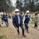 Gobernador Ramiro Barragán envió mensaje de solidaridad a familias de mineros atrapados en mina de carbón