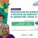 Funcionarios de la Gobernación de Boyacá están convocados al seminario de Protocolos de Atención y Política de Servicio en el Marco del COVID-19