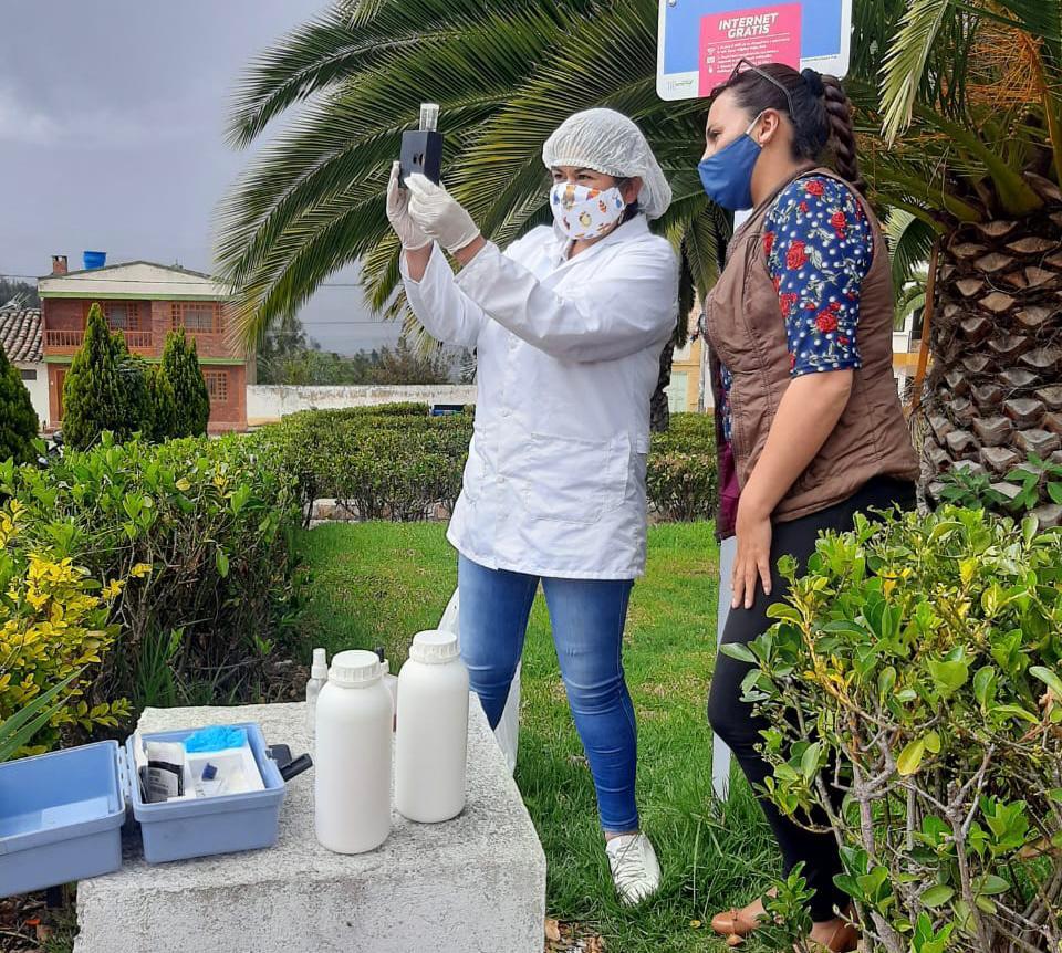 Foto: Programa de Calidad de Agua Potable - Secretaría de Salud de Boyacá