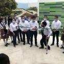Con una inversión que supera los $2.800 millones el Gobernador de Boyacá entregó a la comunidad las nuevas instalaciones educativas en Santana