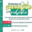 Boyacá libre de Sarampión y Rubéola, busca campaña de vacunación que inició esta semana