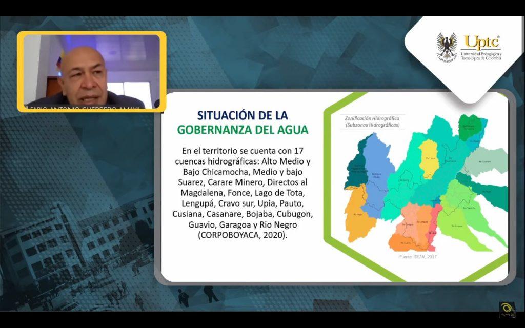 Exitosa participación de la Administración Departamental en el diálogo para la formulación de gobernanza del agua para Colombia