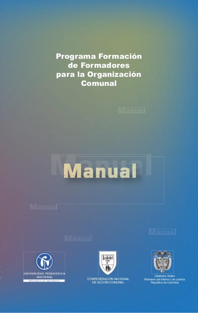 Ya están las cartillas para Formación de Formadores de las organizaciones comunales. Son 17 módulos que ya están disponibles para descargar en la página del Ministerio del Interior