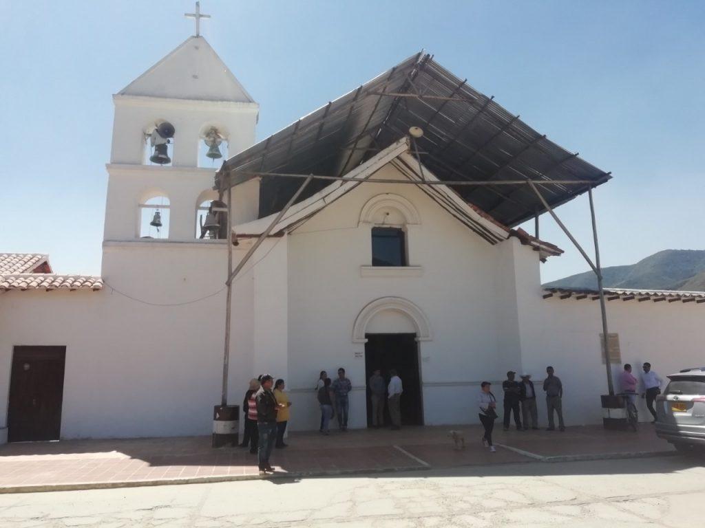 Consejo Departamental de Patrimonio Cultural emite concepto favorable a estudios y diseños del Templo Doctrinero de Tobasía en el municipio de Floresta