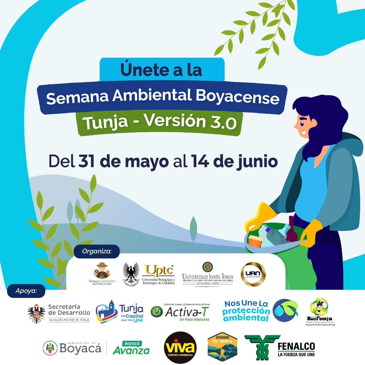 Comenzó la tercera versión de la Semana Ambiental Boyacense