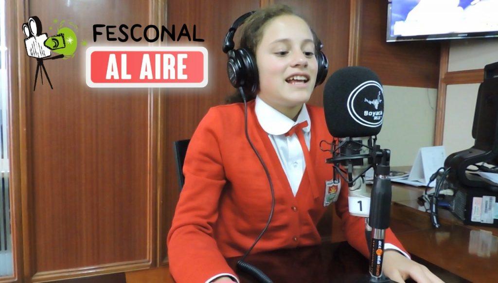 Secretaría de Educación invita a participar en el programa radial FESCONAL al Aire por Boyacá 95.6 FM