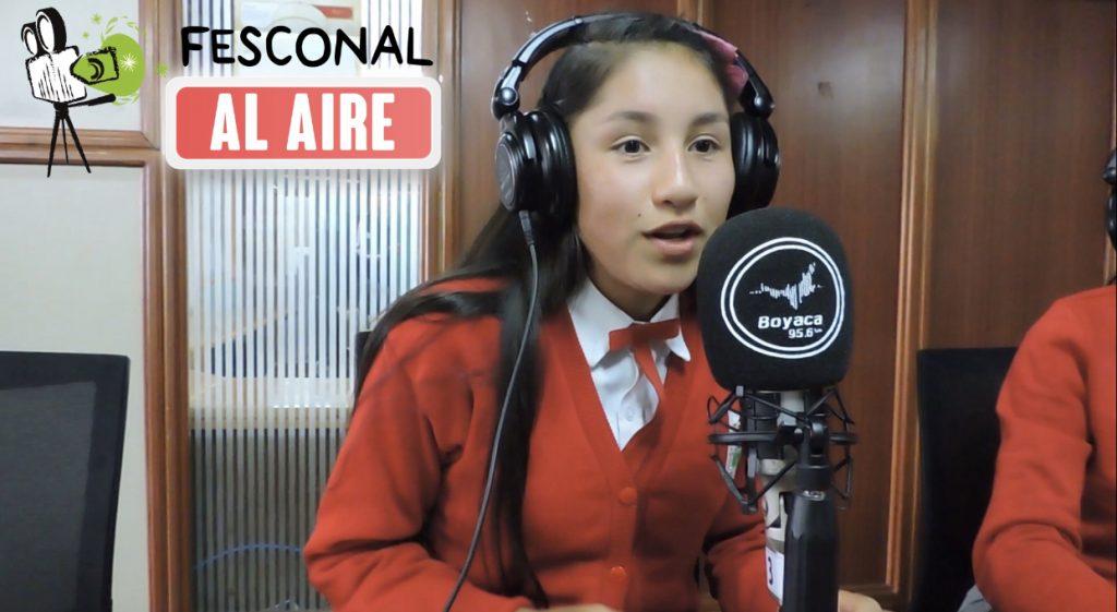 El Club Escolar Audiovisual y Medios DYNAMO del Nodo Provincial La Libertad estarán en FESCONAL al Aire