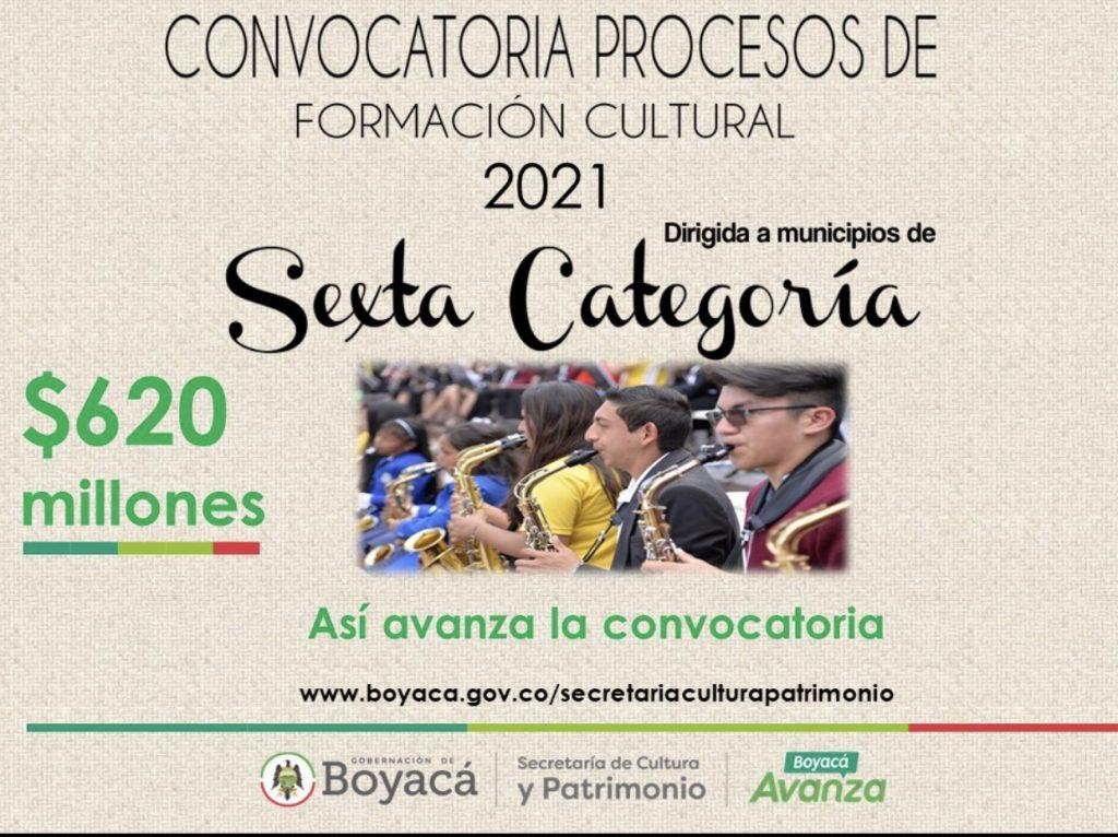 Así Avanza la convocatoria de municipios de Sexta Categoría en Boyacá