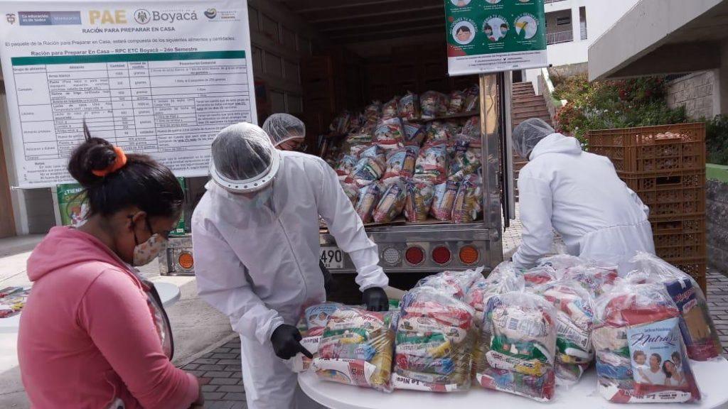 Desabastecimiento originó cambio de productos en la Ración para Preparar en Casa del PAE en Boyacá