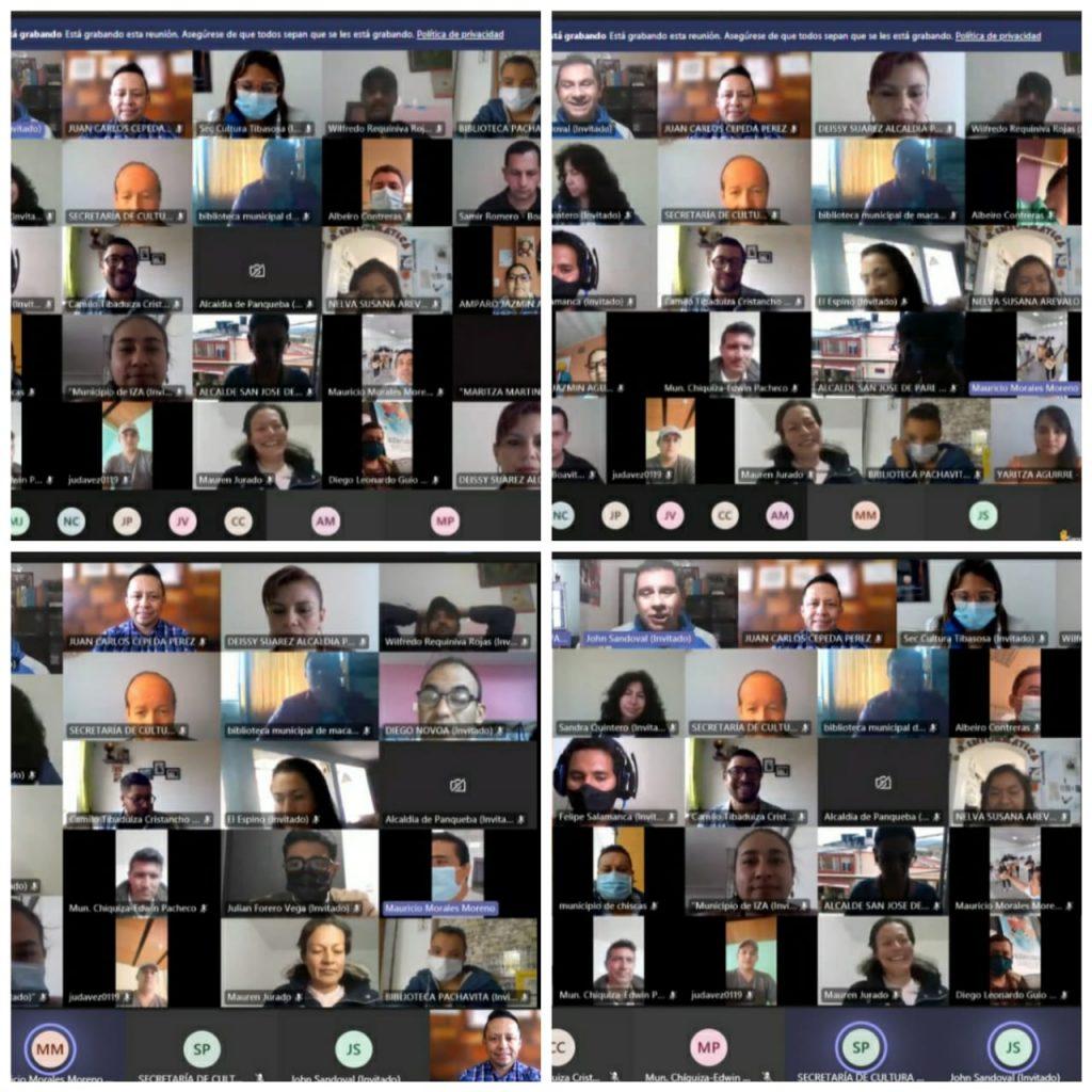 Con éxito se desarrolló Segunda Jornada Virtual Departamental de Cultura
