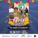"""¡La feria artesanal """"Un Legado de Tradición"""" se toma el Centro Comercial Viva en Tunja!"""