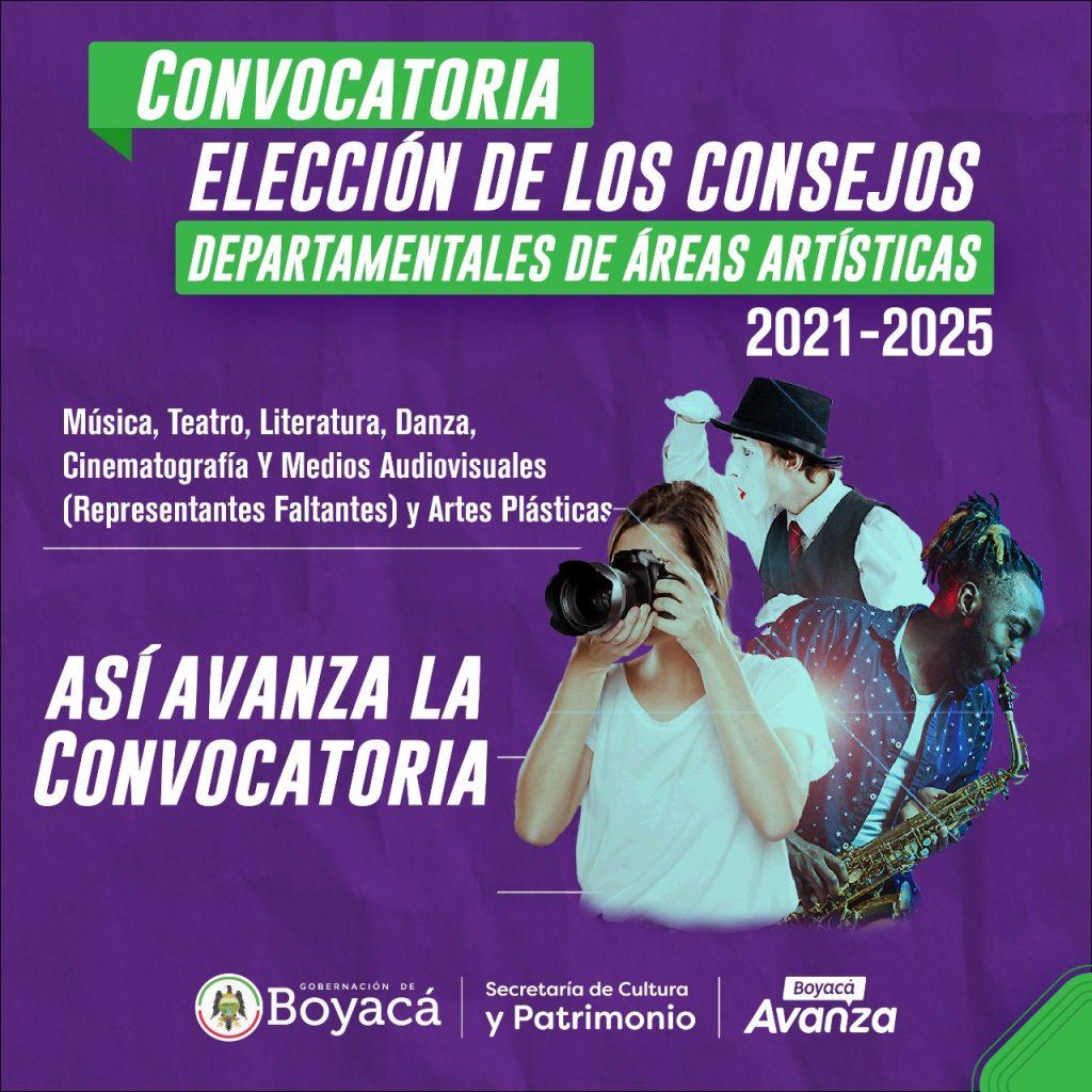 Se cumple el plazo de inscripción de votantes y candidatos a consejos de áreas artísticas