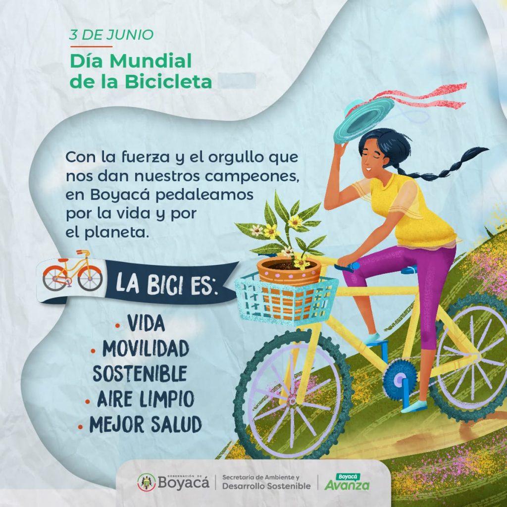 Administración Departamental lanza estrategia de movilidad sostenible con motivo del Día Mundial de la Bicicleta