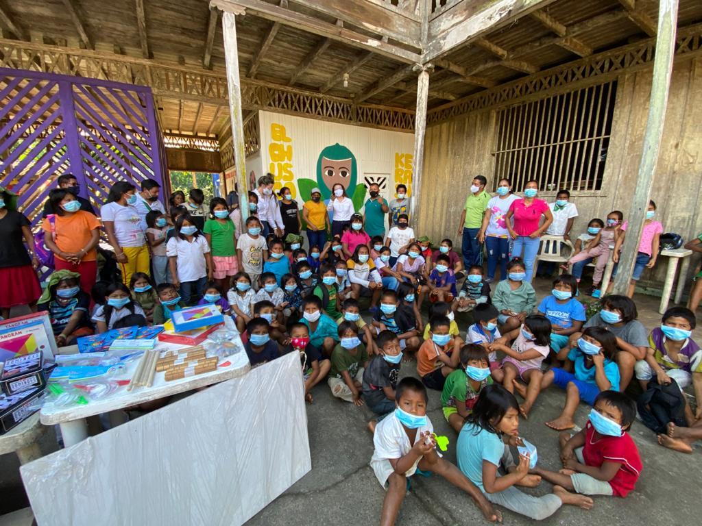 Positivo balance presentó la Secretaria (e) de Educación de Boyacá luego de su visita a las residencias escolares de Cubará