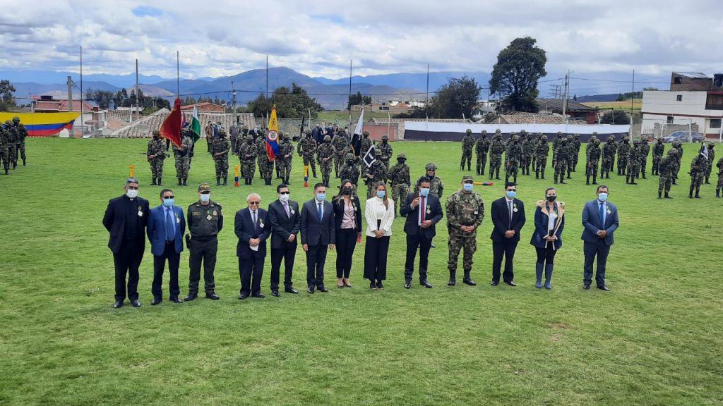 Autoridades conmemoraron los 202 años de la Batalla de El Peñón de las Águilas