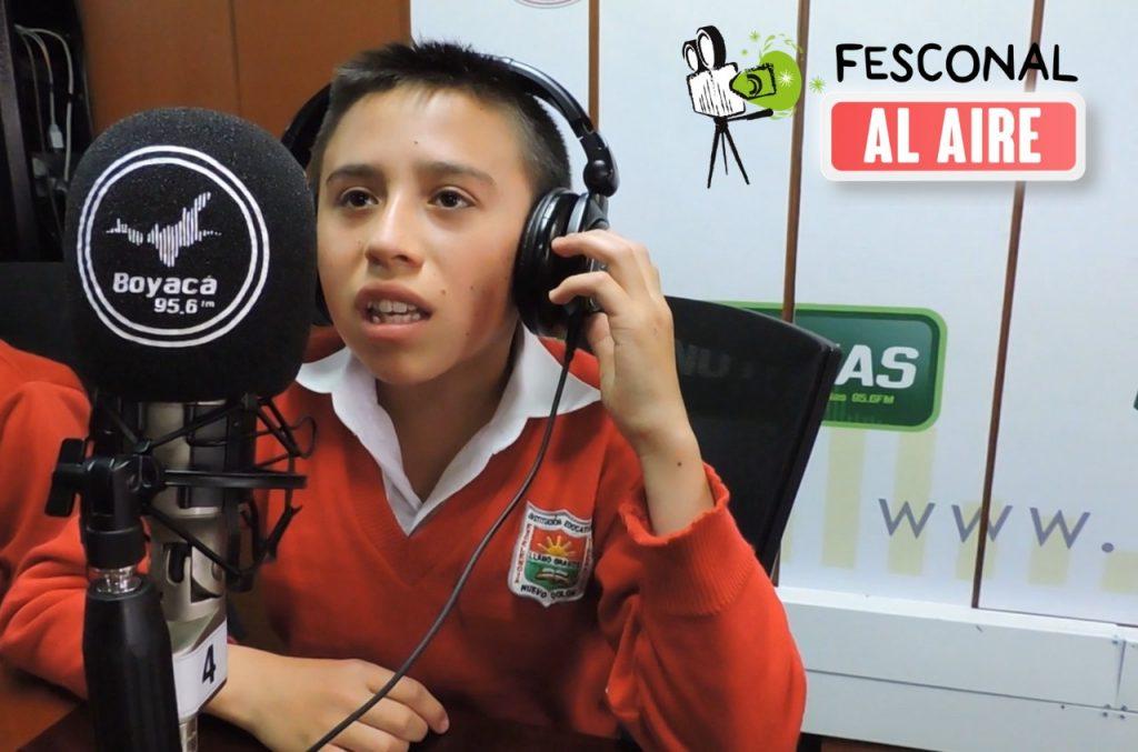 """El Club Escolar Audiovisual """"Miel de Caña"""" de la Institución Educativa """"Haydee Camacho Saavedra"""" representará al nodo Ricaurte en Fesconal al Aire"""