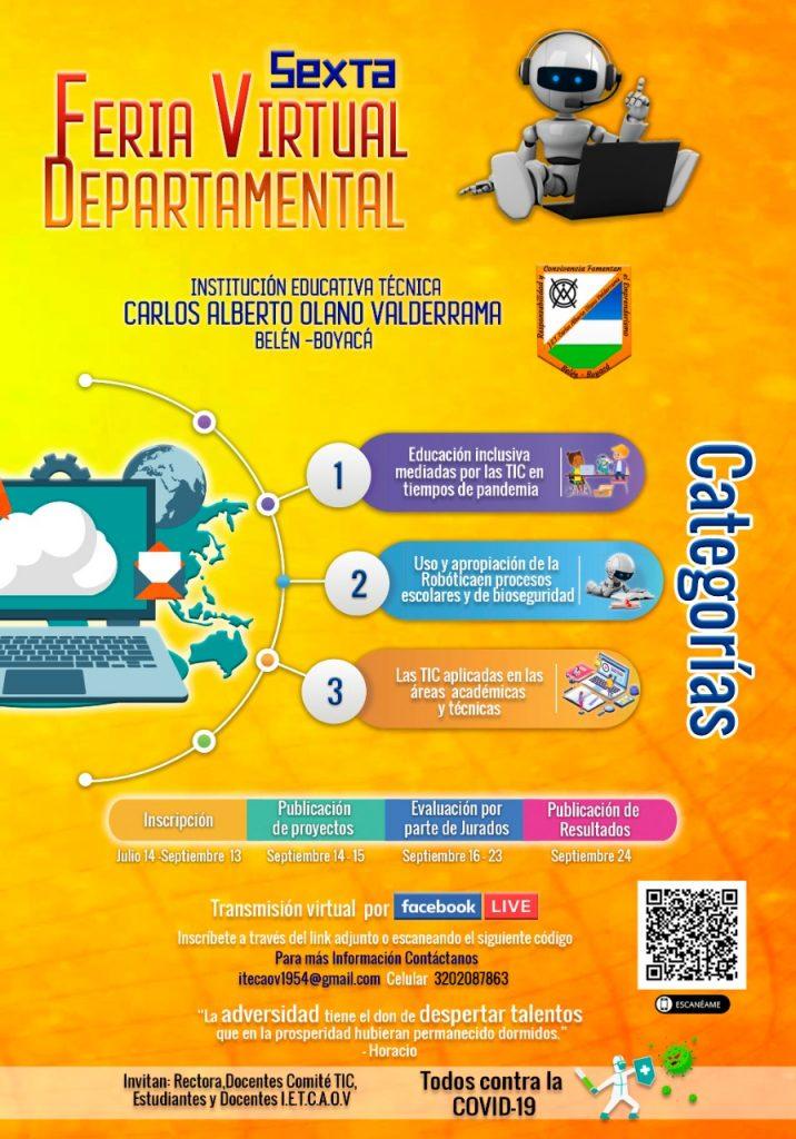 En Belén organizan la VI Feria Virtual Departamental