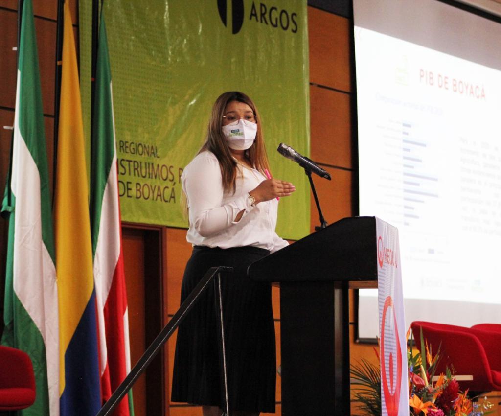 """La Secretaría de Desarrollo Empresarial tuvo una activa presencia en el Foro Regional """"Construimos Reactivación"""" organizado por Camacol Boyacá y Casanare"""