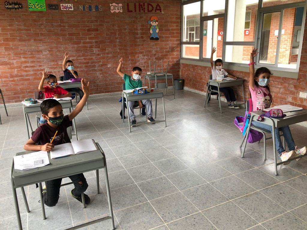 Secretaria de Educación (e) presenta balance semanal de presencialidad