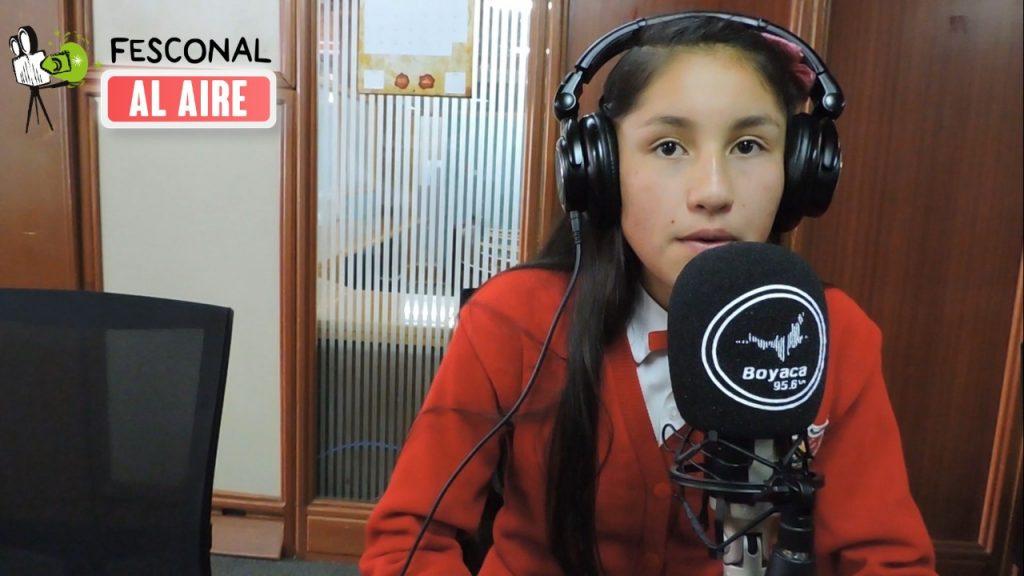 Con el Club Escolar Audiovisual 'Generación Z' concluye la participación de los nodos provinciales en Fesconal al Aire
