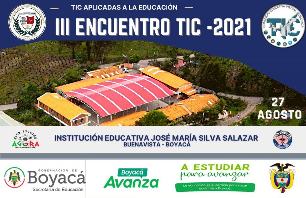 Secretaría de Educación reitera la invitación Tercer Encuentro TIC -2021
