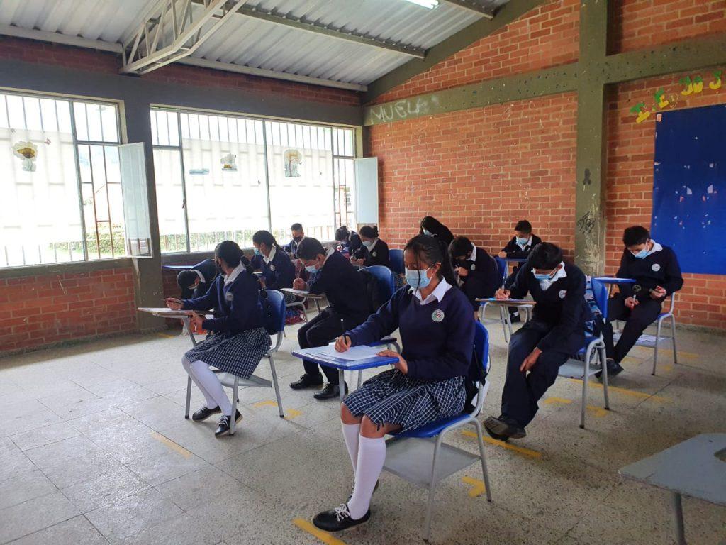 Dos instituciones educativas de Boyacá participan en las pruebas piloto del Estudio Internacional de Educación Cívica y Ciudadana