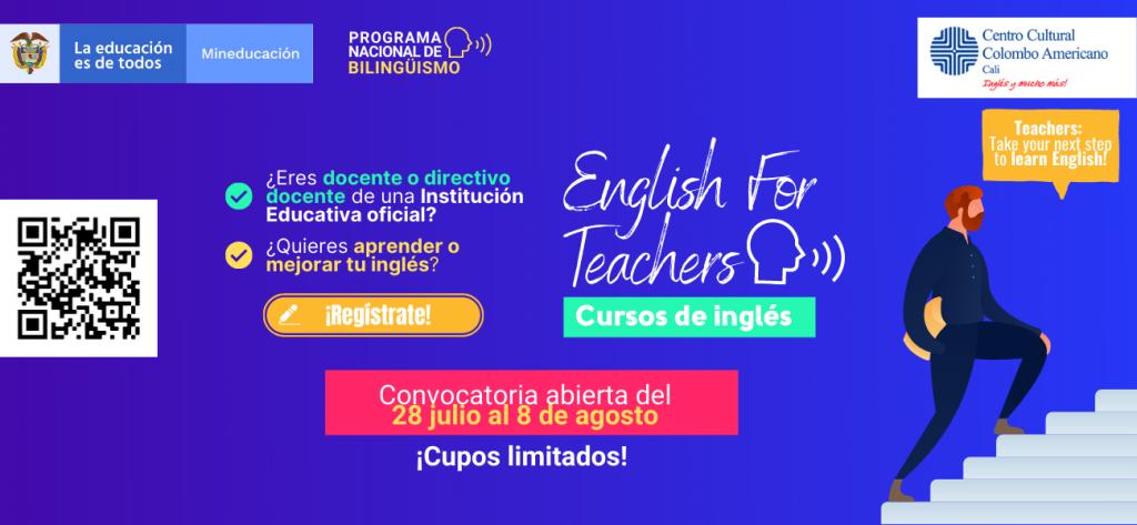 Directivos docentes y docentes de Boyacá se pueden beneficiar de cursos de Inglés que ofrece el Ministerio de Educación Nacional
