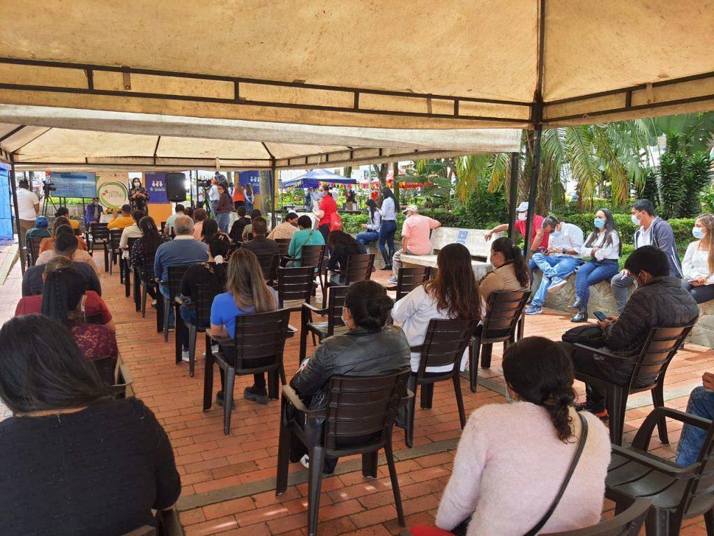 La Secretaría de Desarrollo Empresarial avanza en la socialización e implementación de Política Pública de Trabajo Decente con las alcaldía de la provincia de Neira