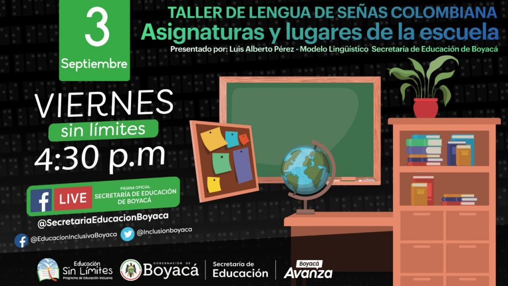 En 'Viernes sin Límites' se avanzará en aprendizaje interactivo de Lengua de Señas Colombiana