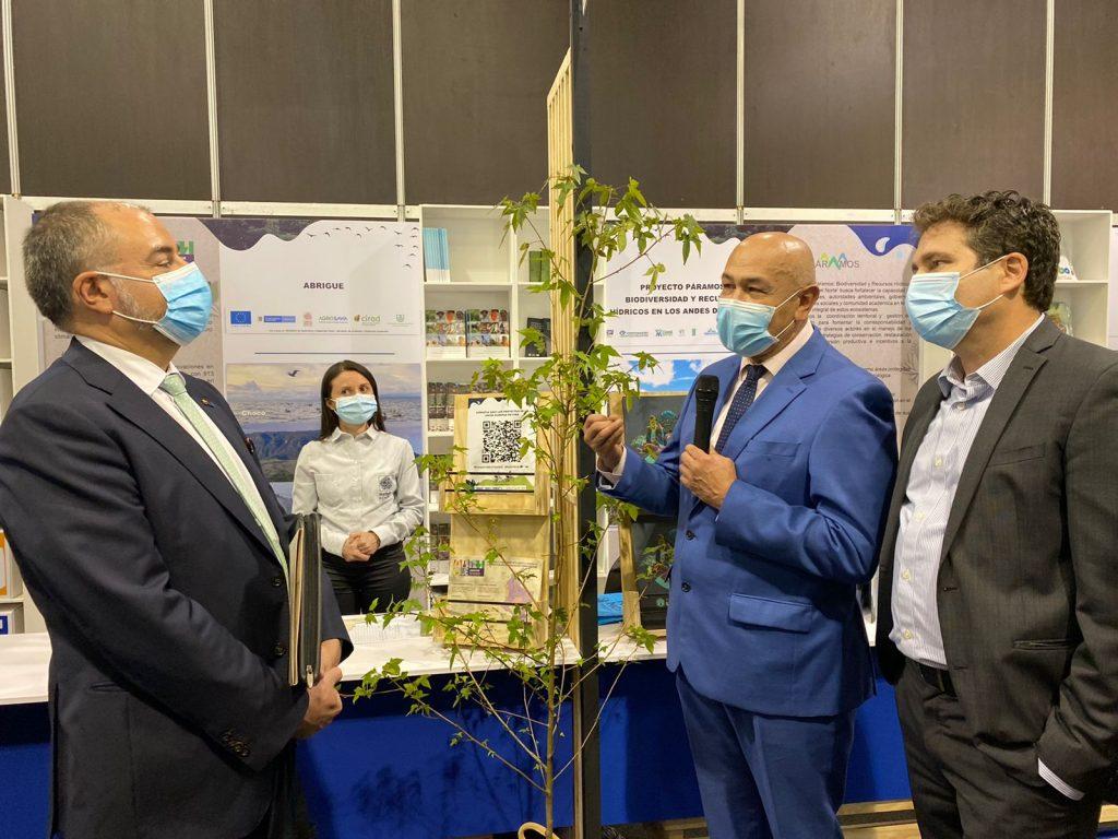Secretario de Ambiente y Desarrollo Sostenible se reunió con embajador de la Unión Europea para jalonar proyectos de impacto
