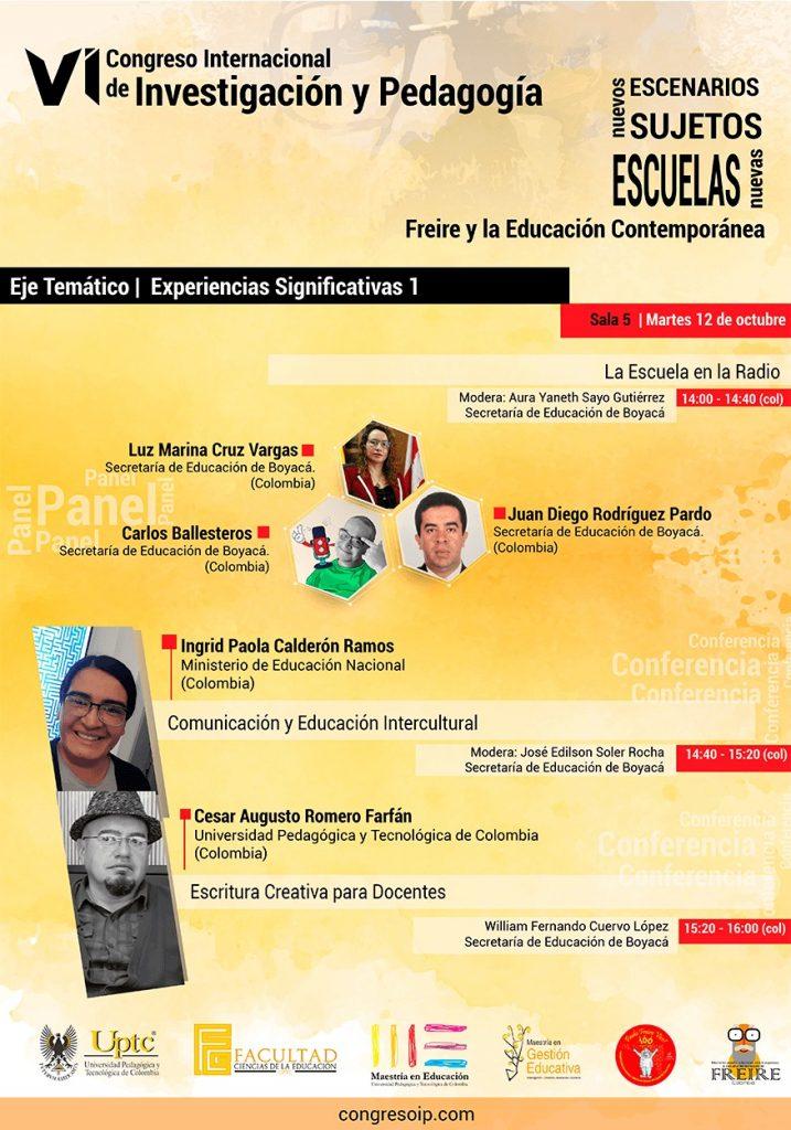 Secretaría de Educación invita a participar en el VI Congreso Internacional de Investigación y Pedagogía