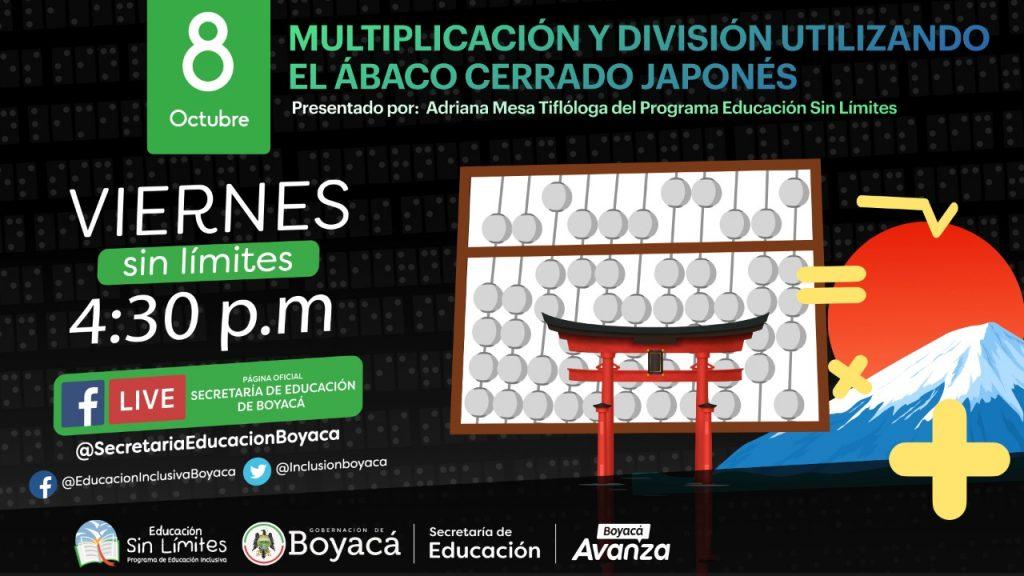 Con multiplicación y división y su enseñanza desde el ábaco continuará el exitoso proceso formativo de Educación sin Límites