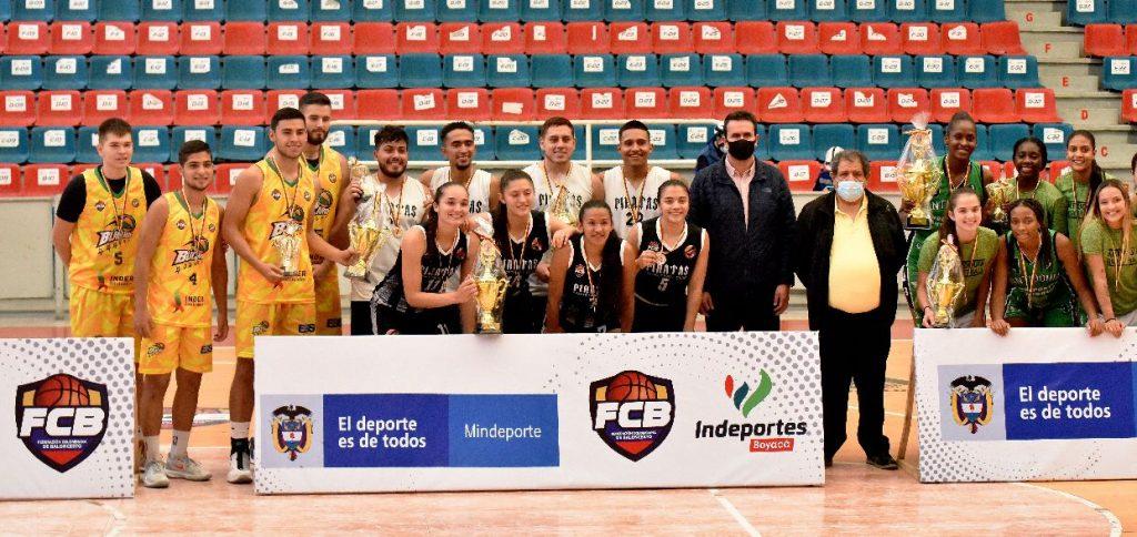 Culminó con éxito el Primer Campeonato Nacional de Baloncesto 3x3 en Tunja