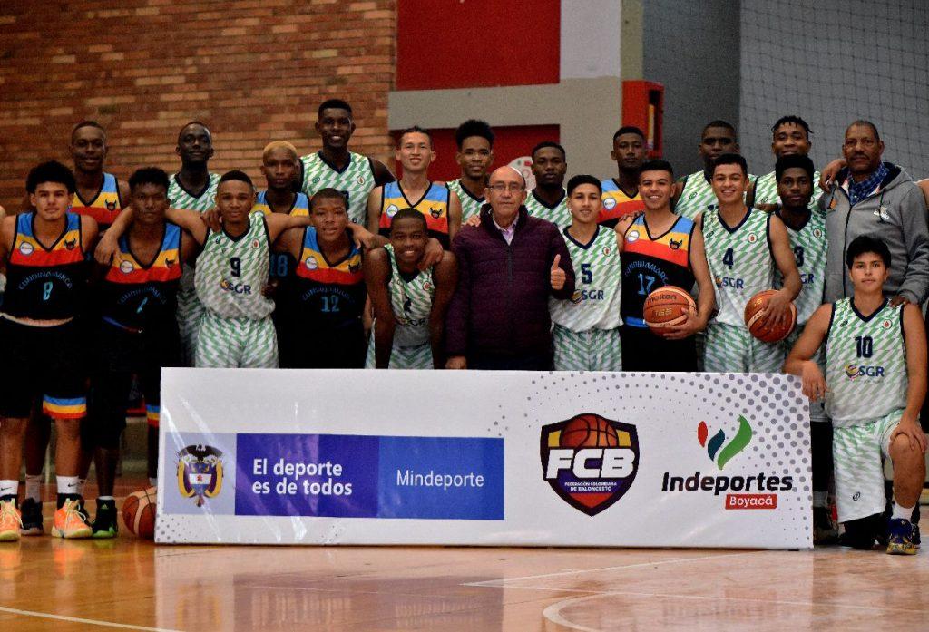 12 delegaciones hacen parte del Campeonato Nacional sub 18 masculino, torneo que se desarrolla en el coliseo Municipal de la Villa Olímpica de Tunja